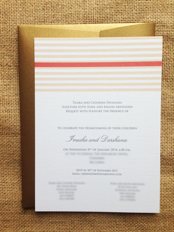 The perfect balance traditionalmodern wedding invitations