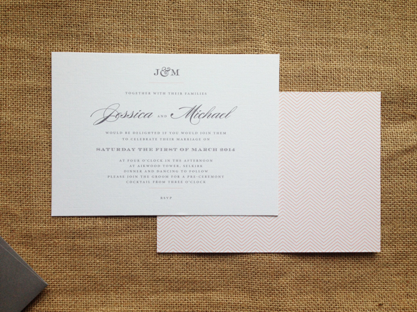 Monogram-7-x-5-invite-with-patterned-back