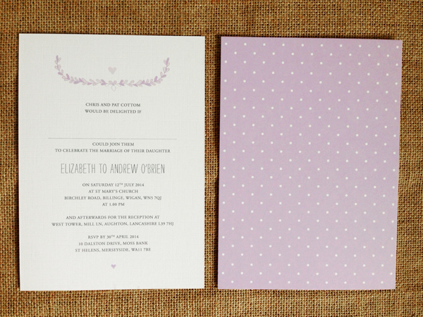 Laurel-7-x-5-card-with-orchid-polka-pattern