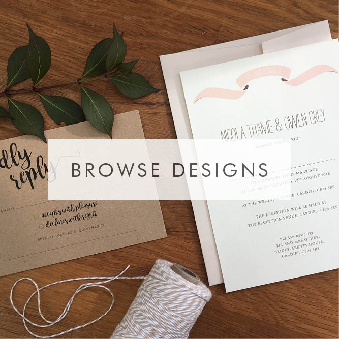 Beautiful personalised wedding invitations and stationery olive featured designs stopboris Choice Image