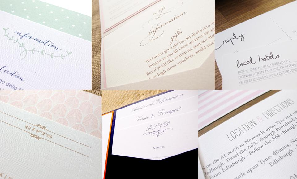 Wedding stationery explained…