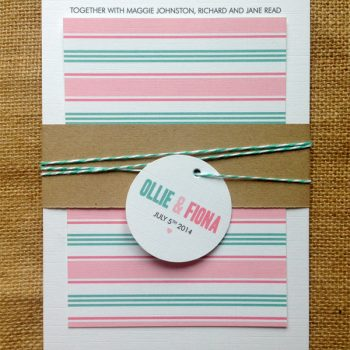 Metro-invite-with-stripes-kraft-belly-band-tag-and-twine