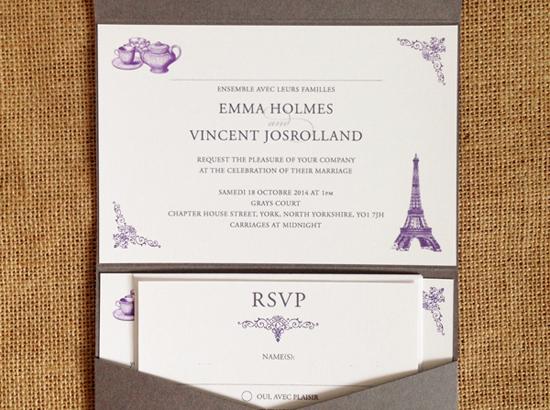 invitation formats
