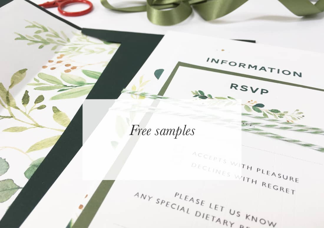 Wedding Invitations Uk Free Samples: Beautiful, Personalised Wedding Invitations And Stationery