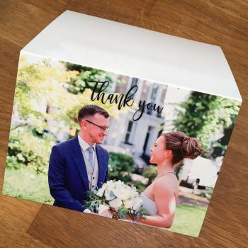 Now available! Photo thank you cards. What better than to incorporate your wedding stationery design and fonts with your favourite picture of the big day? Get in touch for details and pricing! #thankyoucards  #weddingstationery #wedding #weddinginvitation #weddinginspiration #bridetobe #weddinginvitations #invitations #weddingideas #savethedate #invites #invitation #weddinginspo #bohowedding #bohobride #bohostyle #floralinvites #floraldesign #invitationsuite #weddingstationer #stationerydesign #floralstationery #handmadestationery #handmadeweddingstationery #ukwedding
