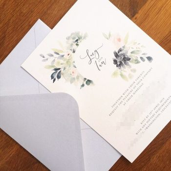 An adapted Succulents design for Lucy and Ian. What a gorgeous layout and wreath. Darker more blue succulents and the addition of pink floral elements. ????????? The envelope is a seriously classy Cool Grey to bring out those more neutral silvery tones of the design. ????????? Check out the blog for my latest post on how to incorporate these beautiful and intriguing plants into your big day. . #succulents #succulentwedding #succulentinvitations  #weddingstationery #wedding #weddinginvitation #weddinginspiration #bridetobe #weddinginvitations #invitations #weddingideas #invites #invitation #weddinginspo #bohowedding #bohobride #bohostyle #floralinvites #floraldesign #weddingstationer #stationerydesign #floralstationery #handmadestationery #handmadeweddingstationery #rusticstationery #ukwedding #watercolour #watercolourinvitations #watercolourweddingstationery #watercolourwedding